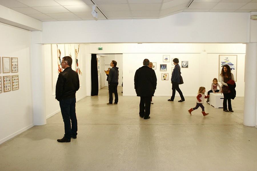 1.Des expositions d'artistes contemporains