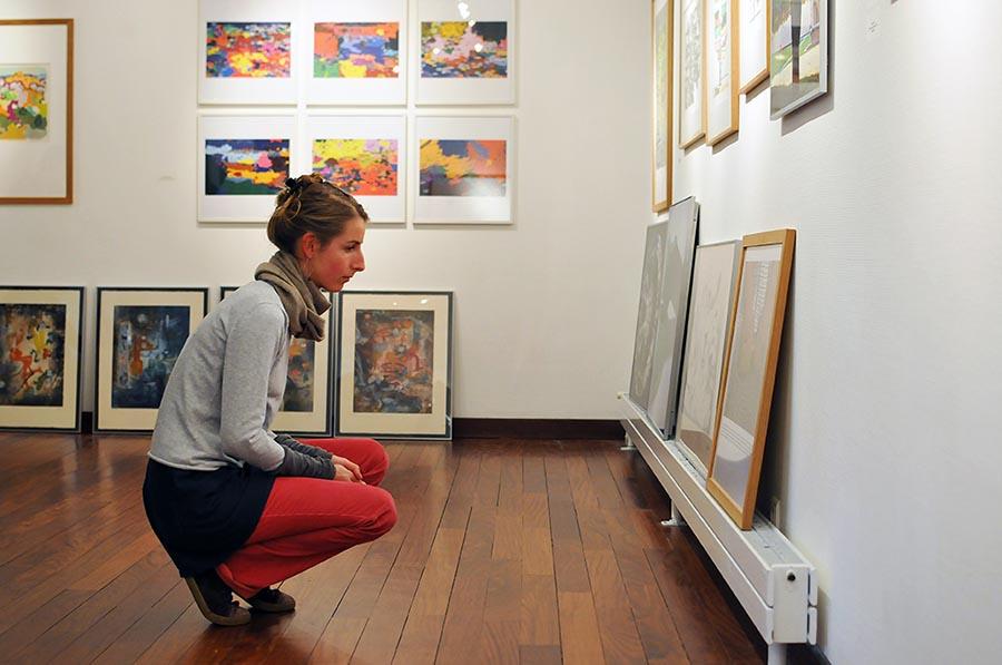 Vue de la galerie