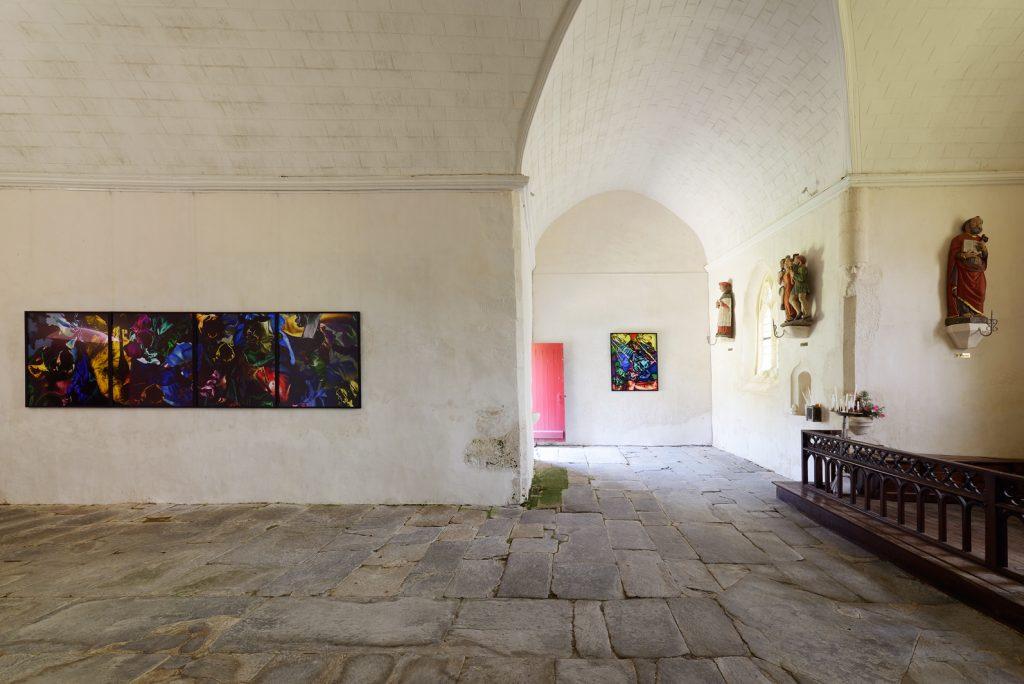 """Florence Chevallier, """"Les Plaisirs"""", 2017, Chapelle Saint-Drédeno, Saint-Gérand, L'art dans les chapelles 2017"""