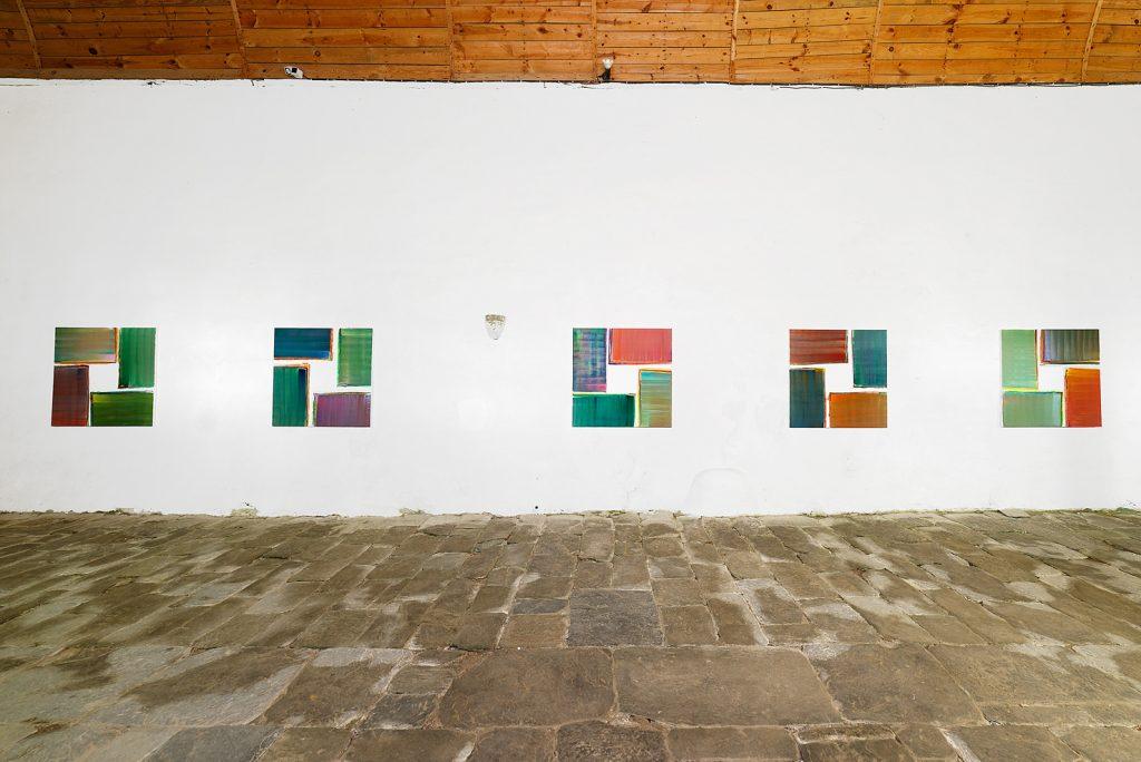 """Fabienne Gaston-Dreyfus, """"Sans titre / Untitled"""", 2017, Chapelle de la Trinité, Cléguérec, L'art dans les chapelles 2017"""