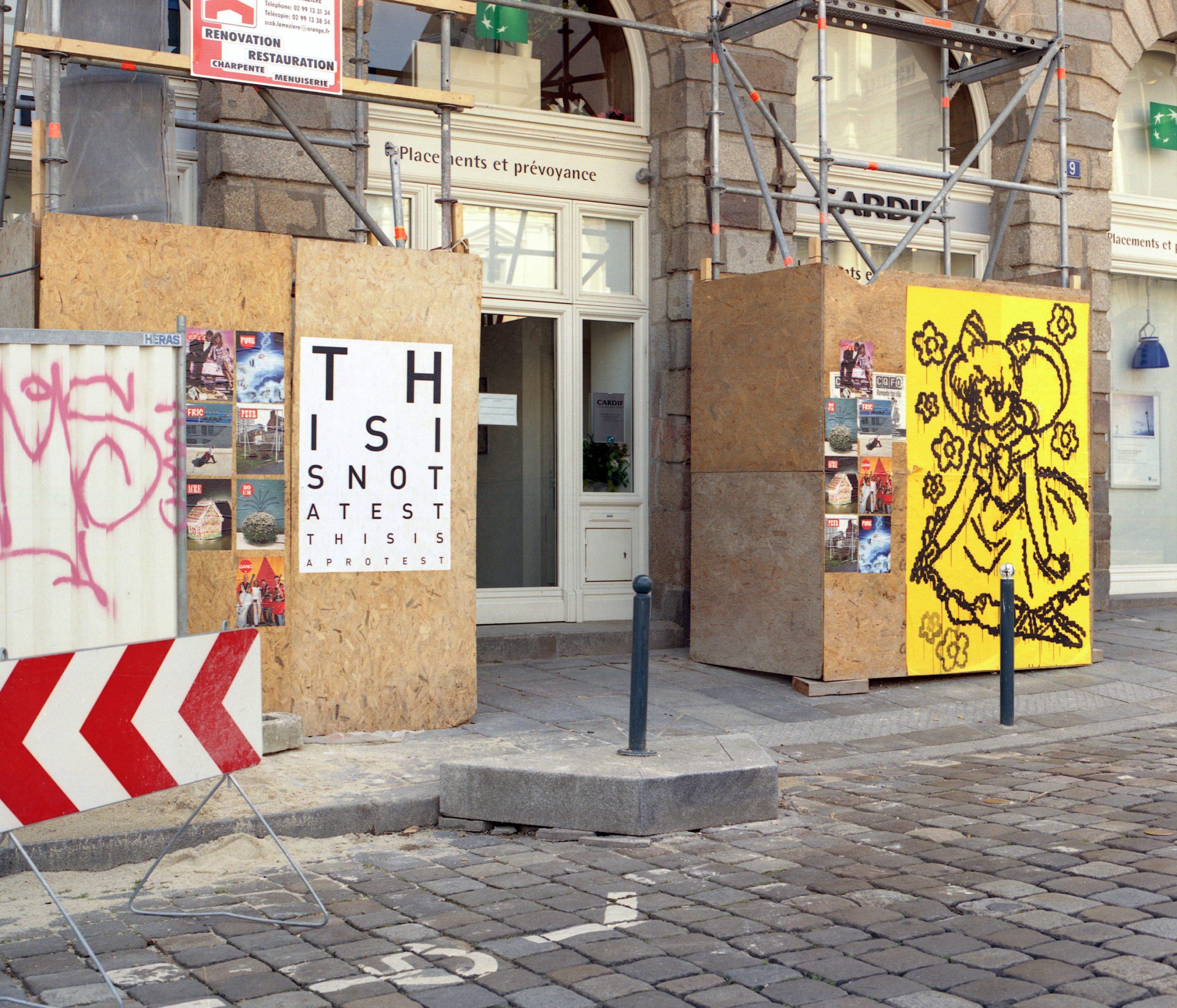 Exposition Processus Placards Documents PHAKT Rennes