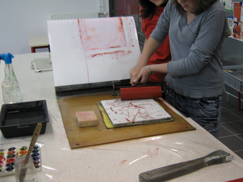 Atelier lithographie