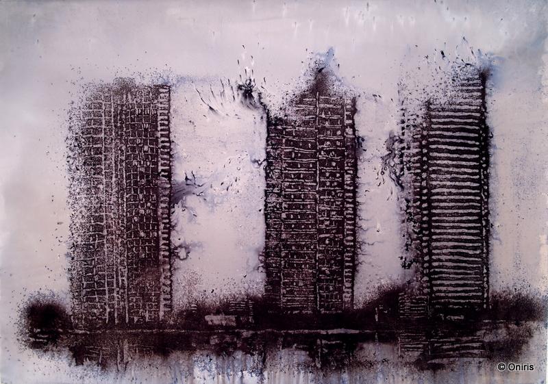 Philippe Cognée - Galerie Oniris