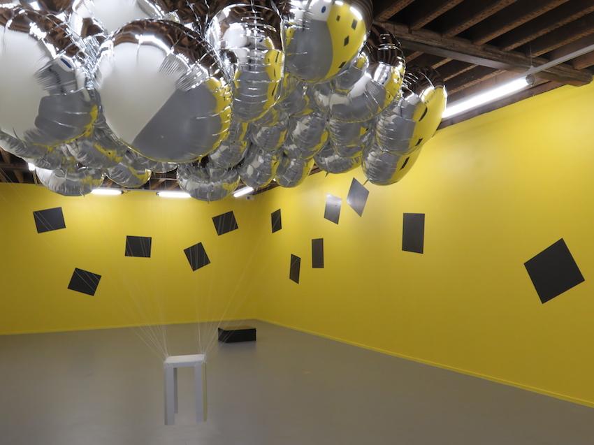 EBA- Saint-Brieuc - Vue de l'exposition V. Joumard - galerie Raymond Hains 2016 - 2