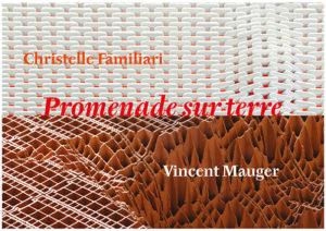 Christelle Familiari, Vue d'atelier, Peaux, 2019 © ADAGP, Paris 2019 et Vincent Mauger, Sans titre, 2015 ©ADAGP, Paris 2019. Crédit photo : Aurélien Mole