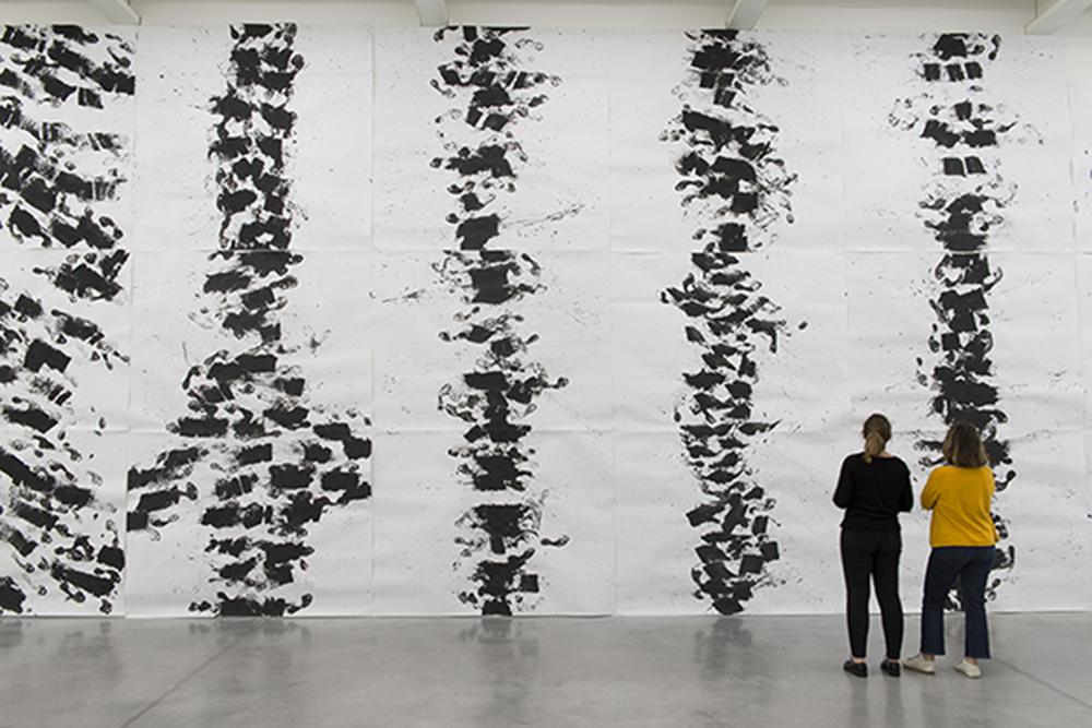 Vue de l'exposition Marcel Dinahet Sous le vent, présentée au Frac Bretagne, Rennes, du 14 juin au 10 novembre 2019 - Crédit photo : Mac Domage