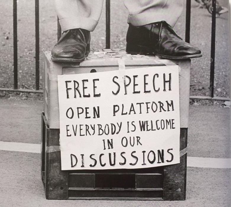 Philip Wolmuth, Speakers Corner