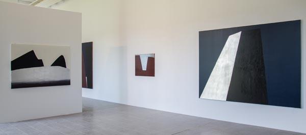 Vue de l'exposition Anna-Eva Bergman - Kerguéhennec