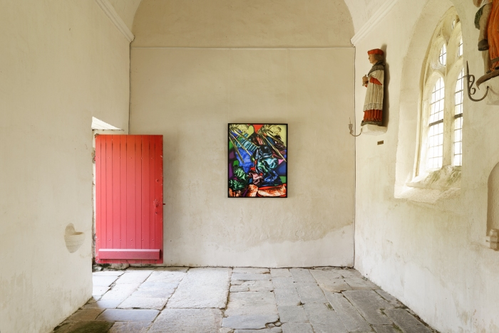 """Florence Chevallier, """"Les Plaisirs / Pleasures"""", 2017, Chapelle Saint-Drédeno, Saint-Gérand, L'art dans les chapelles 2017"""