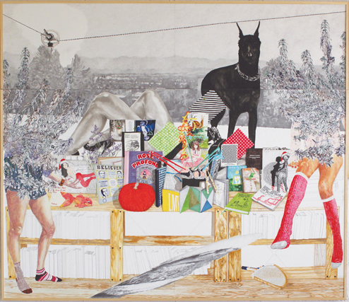 Exposition Adventices de Julie BONNAUD et Fabien LEPLAË au PHAKT - Centre Culturel Colombier de RENNES (35)
