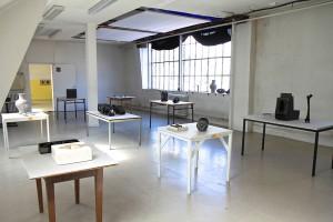 Josué Z. Rauscher, Salle 216. Vue de l'exposition Archeologia II, Rennes, 2016. Photo. Patrice Goasduff.